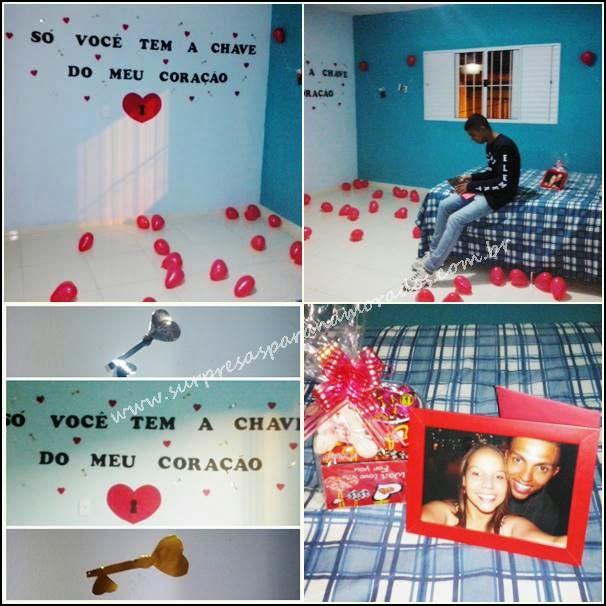decoração no quarto do namorado