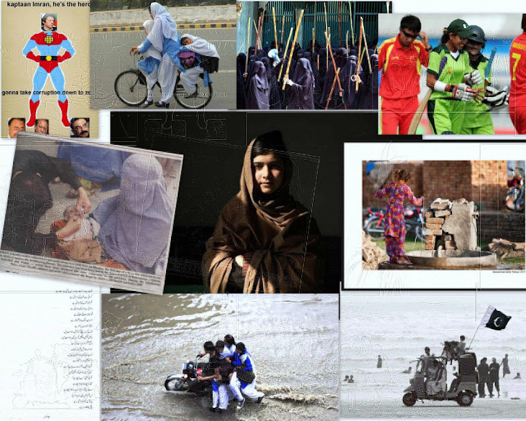 The pakistani women..