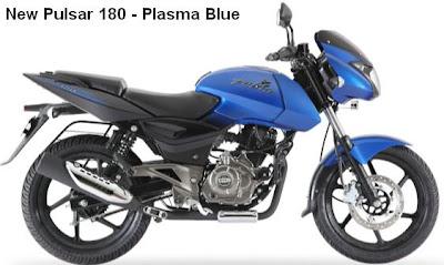 New Pulsar 180 blue Colors