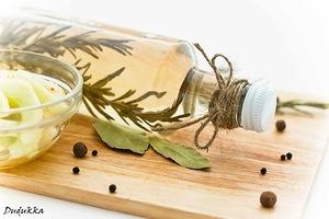 Рецепт приготовления уксуса на травах и некоторые сочетания растений