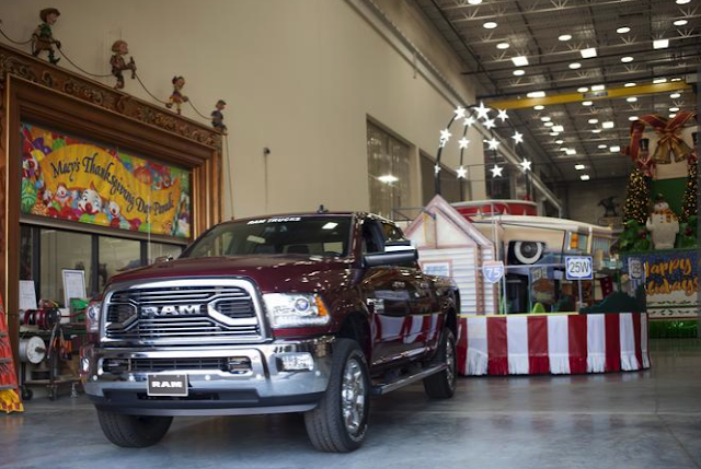 Ram is the Official Truck of the Macy's Thanksgiving Day Parade