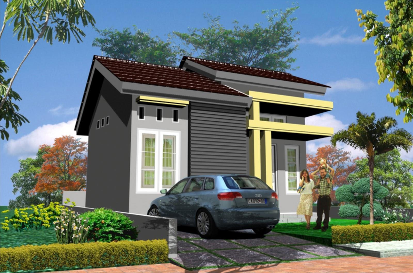 Model Rumah Minimalis Gambar Rumah Minimalis 1 Lantai Type 21