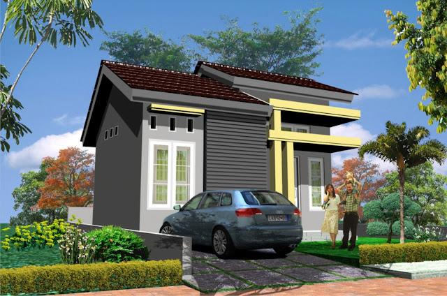 design rumah tipe 21 60 1 lantai