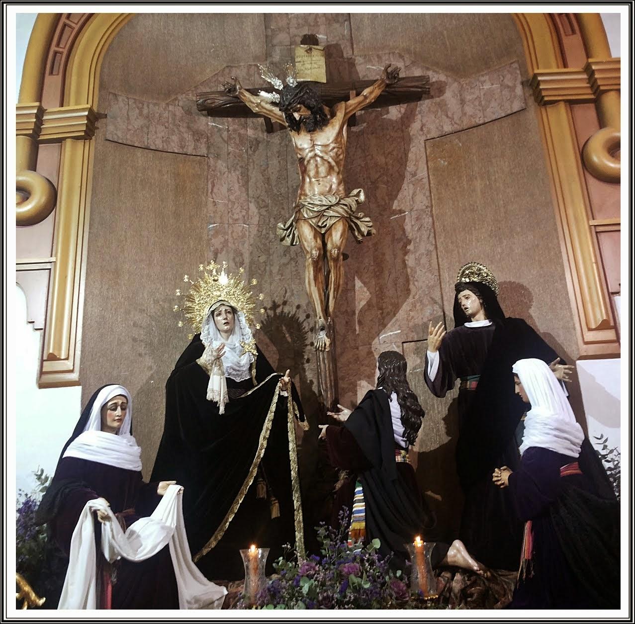 El Calvario del Cristo del Amor de Luto.