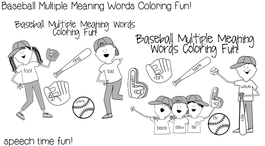 Teaching Multiple Meaning Words: A Free Activity | Multiple ...