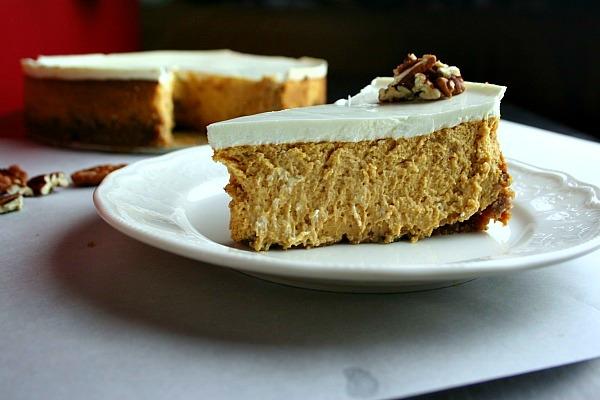Scarborough Foodfair Bourbon Pumpkin Cheesecake