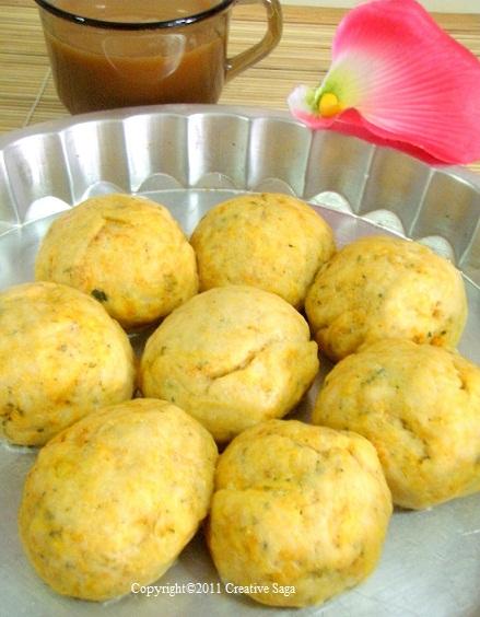 spicy masala buns