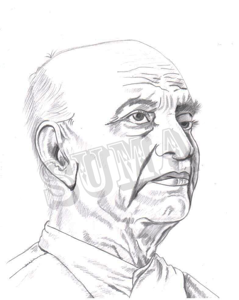 VishuGraphics Sardar Vallabhai Patelu0026#39;s Sketch