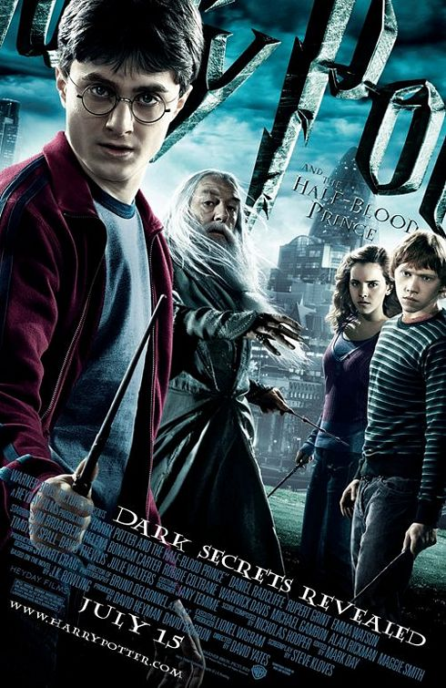 Harry Potter Half-Blood Prince poster