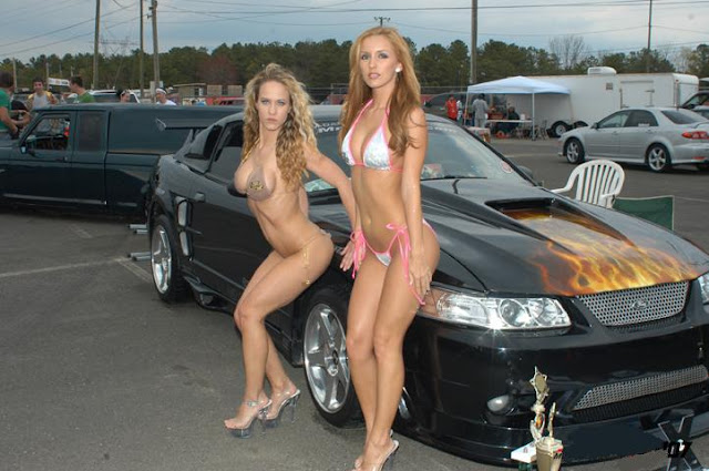 Car Model New And Obsolete Model Cars With Hot Girl Lady