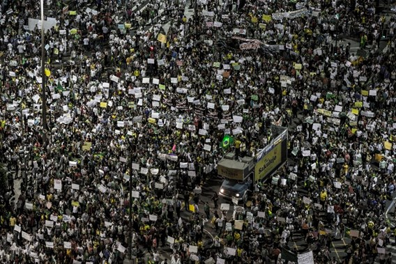 A million protests on the streets of Brazil