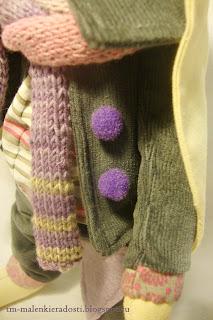 Текстильный Заяц ручной работы