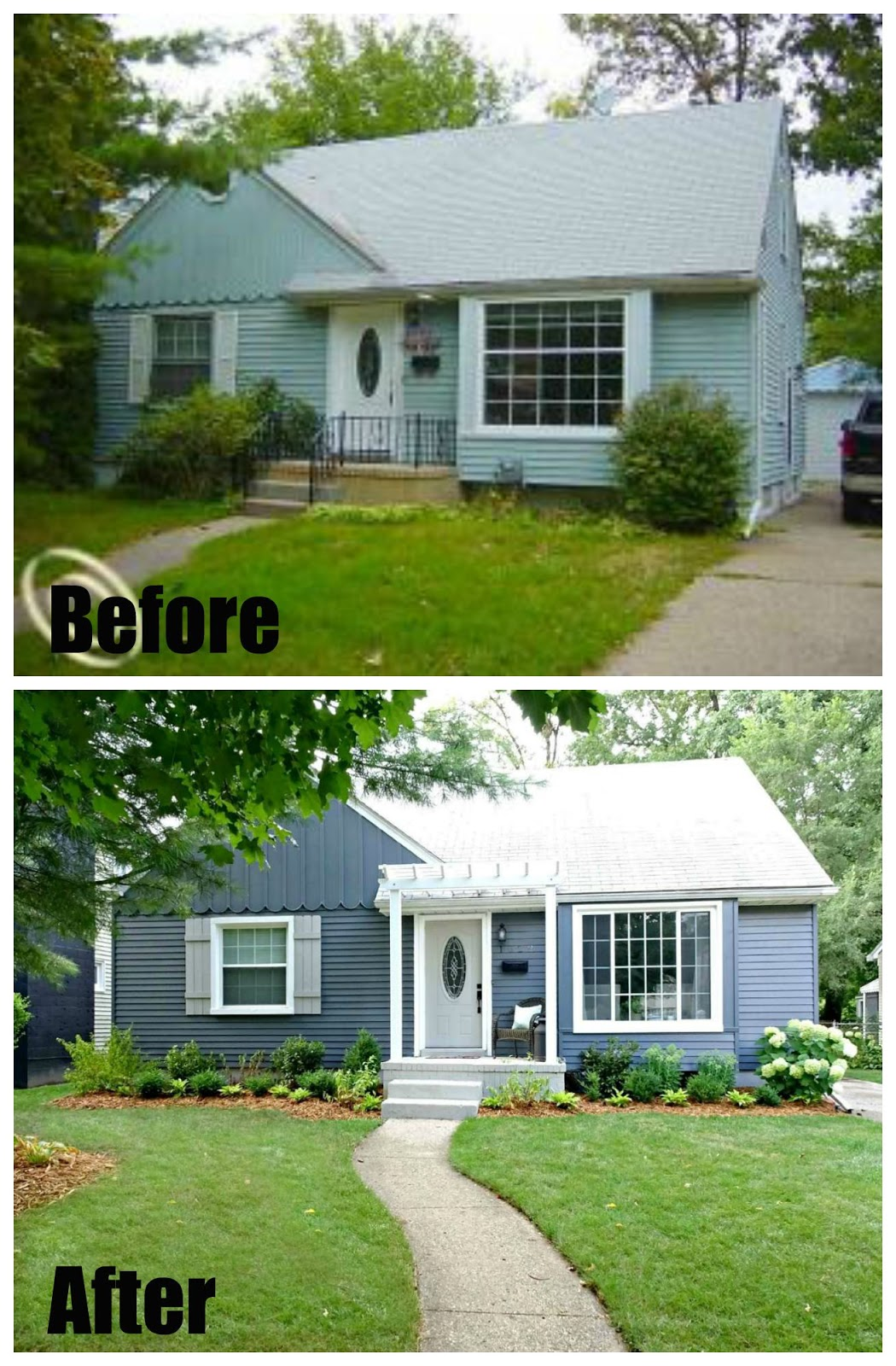 amanda rapp design before after curb appeal