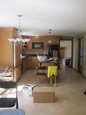 Our kitchen before staging