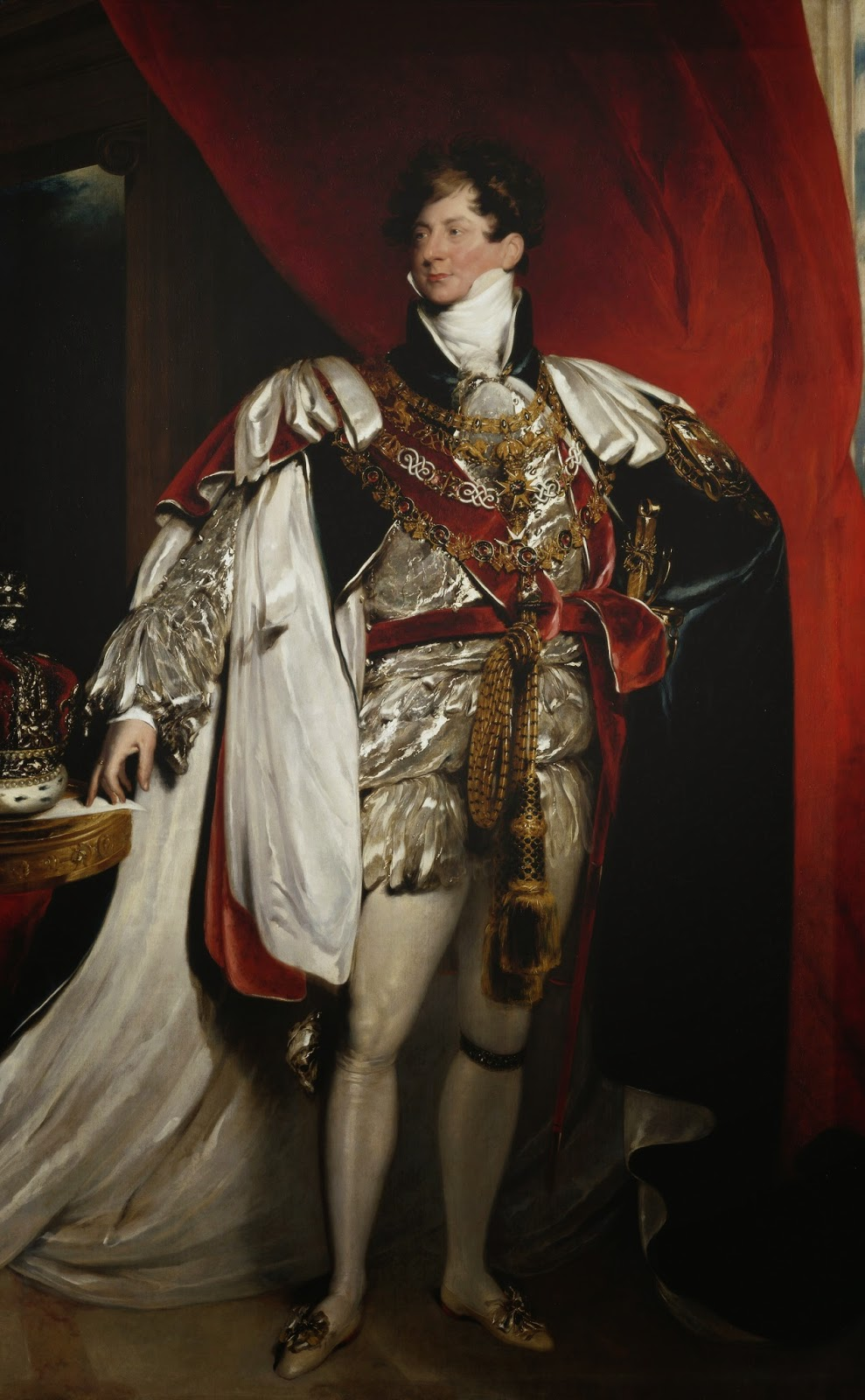 George IV by Sir Thomas Lawrence (1821)  Royal Collection Trust  © Her Majesty Queen Elizabeth II 2014
