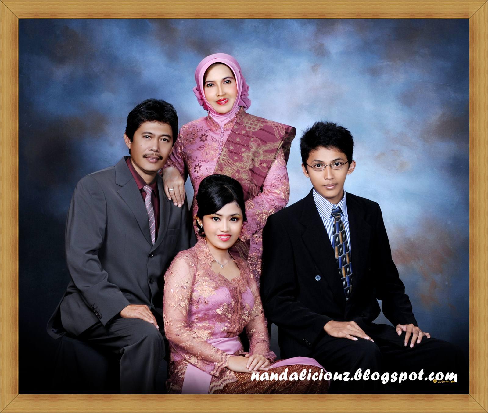 foto wisuda keluarga