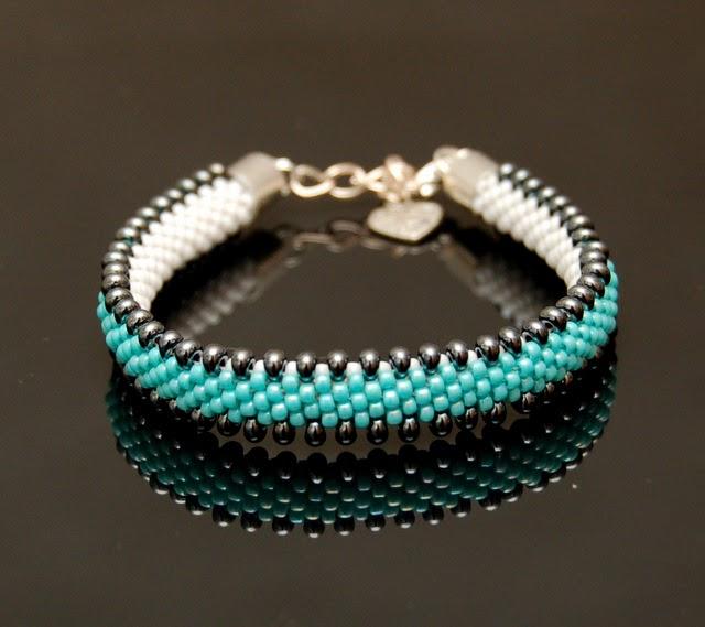 bransoletka koralikowa bead crochet bracelet inati zare 5