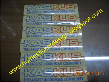Contoh Sticker Promosi