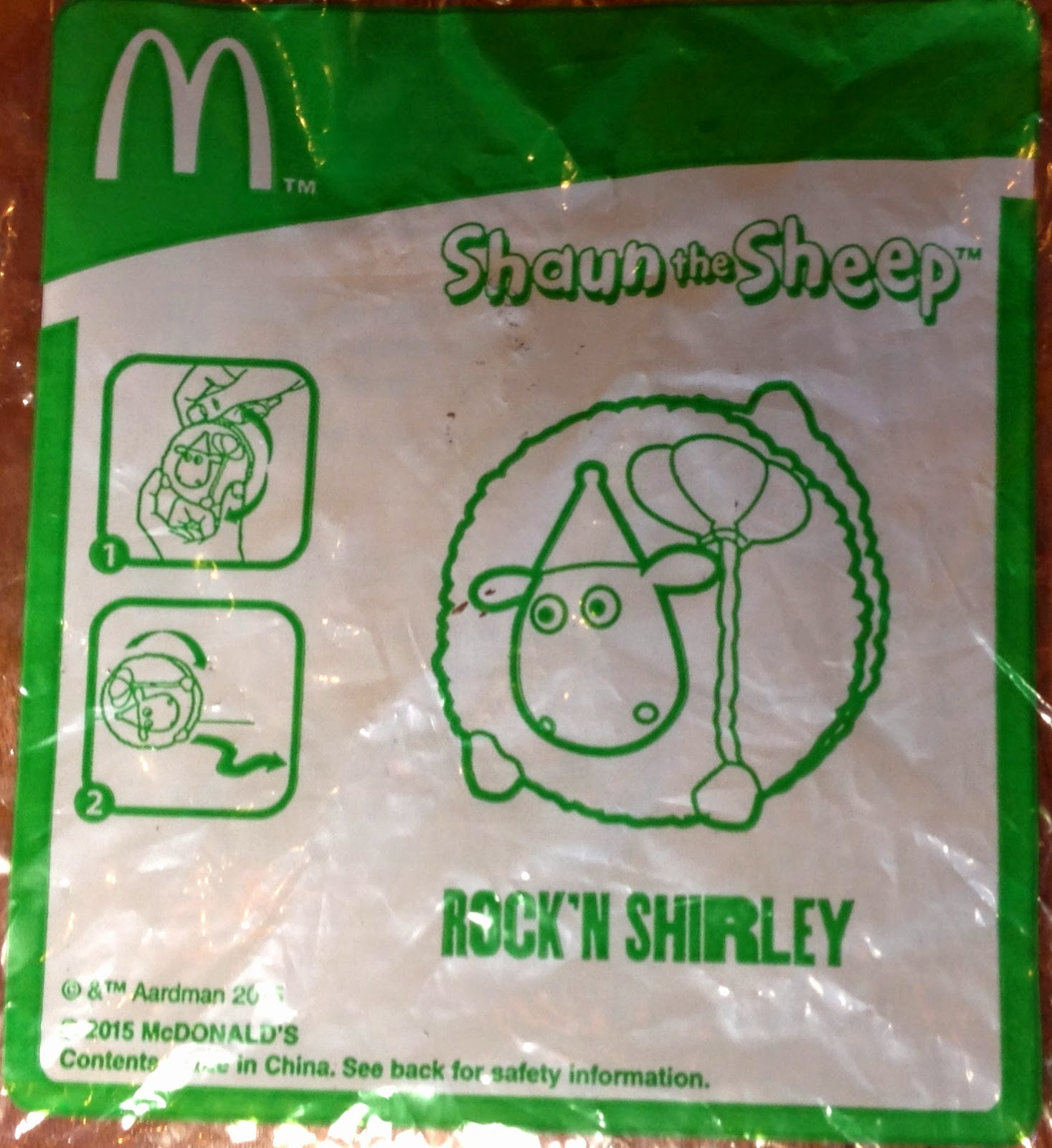 Shaun The Sheep Toys Happy Meal