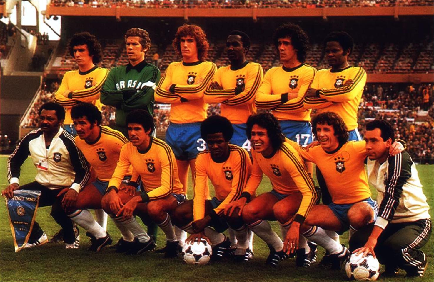 The vintage football club bresil 1978 - Logo club foot bresil ...