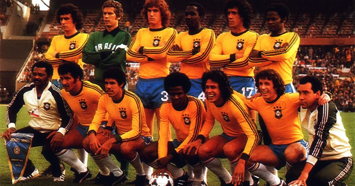 Bresil 1978 the vintage football club - Coupe du monde du bresil ...