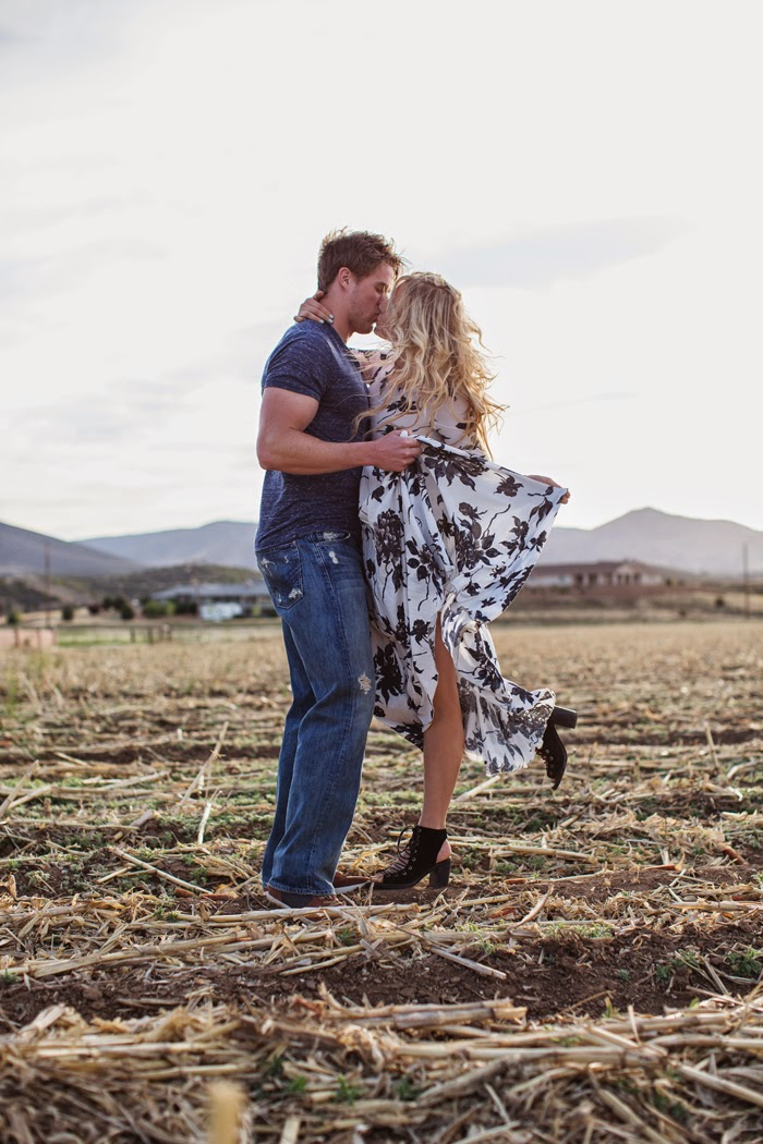 the rancher's daughter, engagement photos