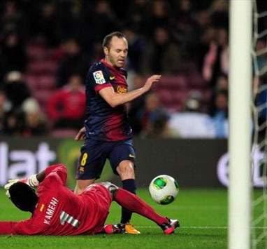 Barcelona vs Malaga 1-0 Senin (26/8/2013)