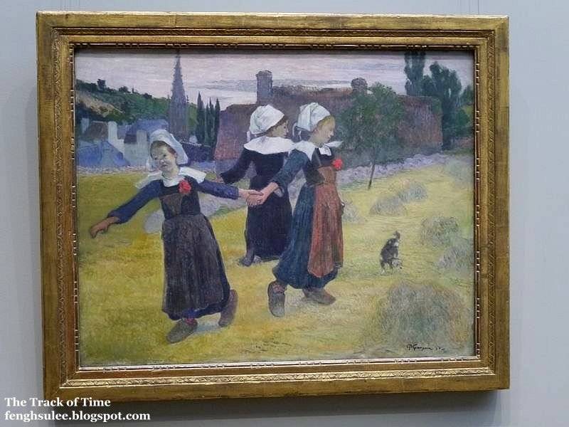 paul gauguins art work The visits of the french artist paul gauguin to brittany freed him from the shadow of the impressionists nick trend follows in his footsteps.