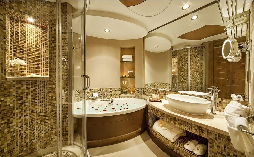 Contoh desain kamar mandi hotel bintang 5 for Design hotel bintang 3