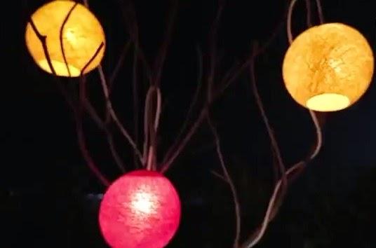 Creative handcraft Make The artistic garden lantern