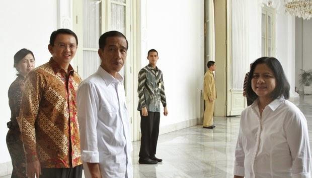 Jokowi, Gus Dur, dan Bung Karno di Kamar yang Sama