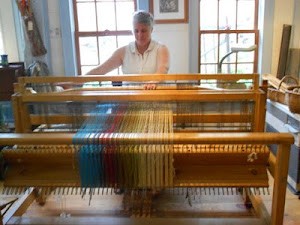 Hand woven on a hand loom