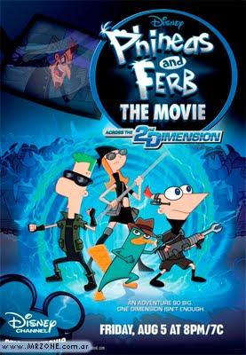 Phineas y Ferb en 3gp