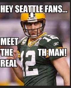 Hey seattle Fans... meet the real 12th man!