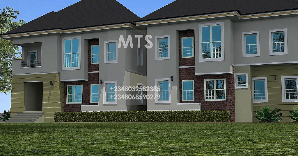 4 bedroom twin duplex for Duplex bed