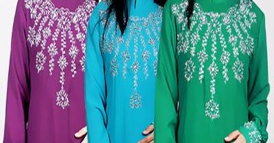 Memiliki Model Baju Muslim Wanita Ala Timur Tengah Model