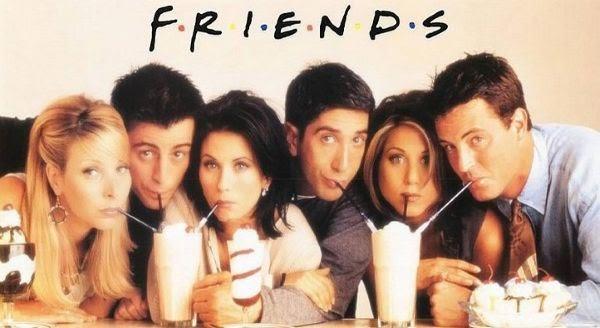 Friends entre os melhores seriados de TV de todos os tempos