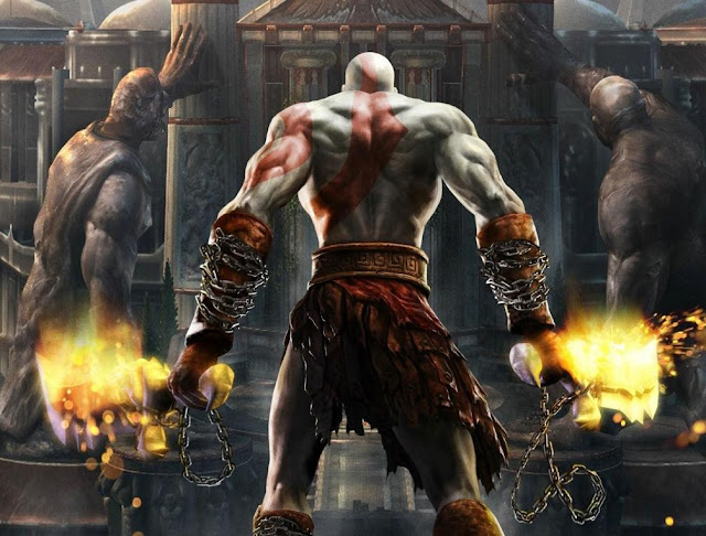 god of war 2 sony action game