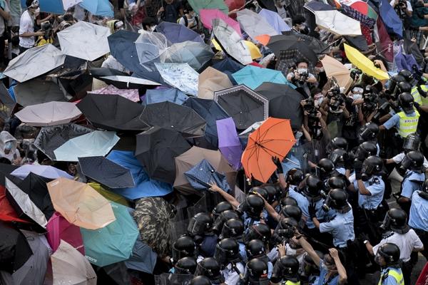 """香港""""雨伞革命""""图4"""