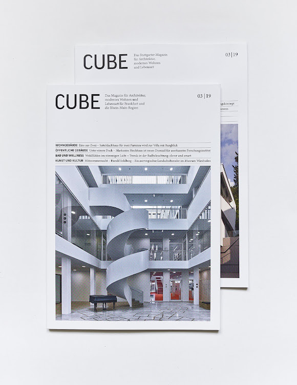 Titel Cube 3/19 Frankfurt/Beitrag Stuttgart