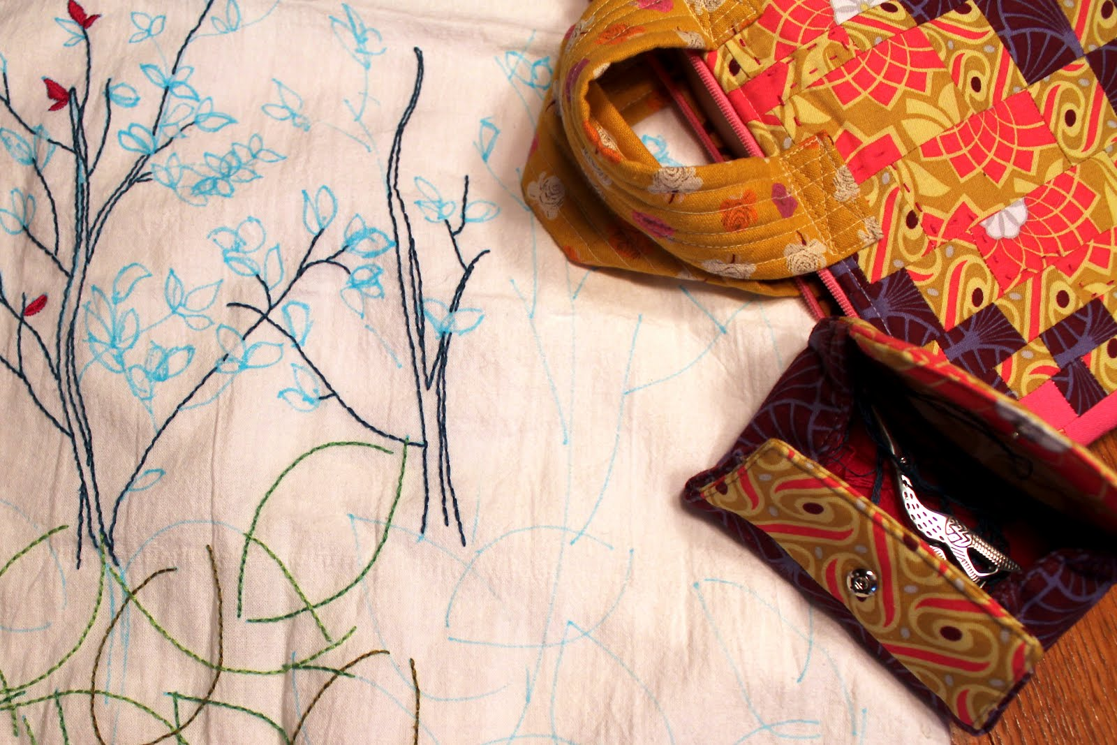 travel embroidery
