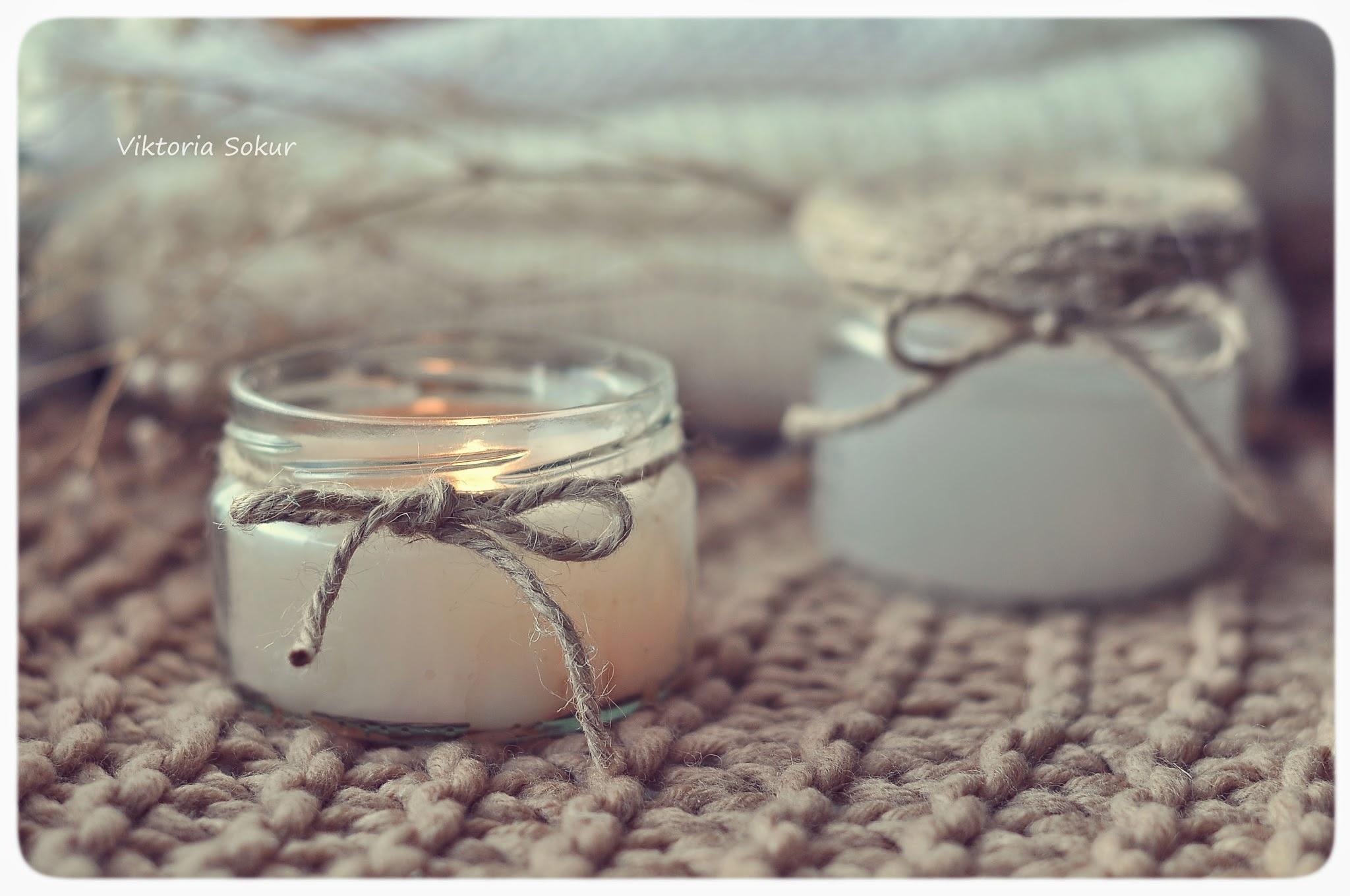 как сделать свечи своими руками