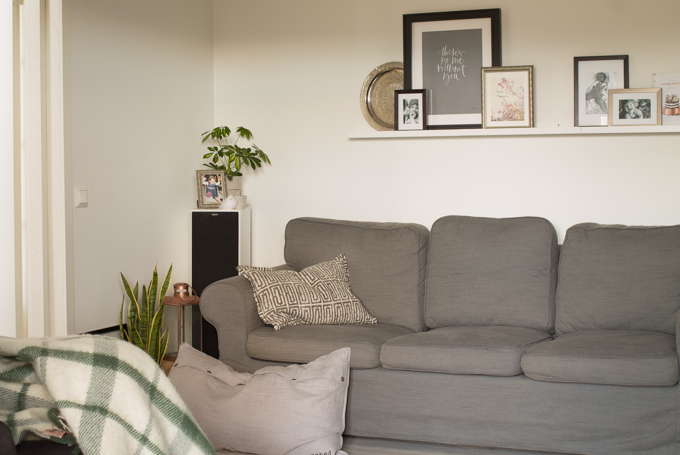 viherkasvit olohuoneessa kodikas olohuone tauluhylly