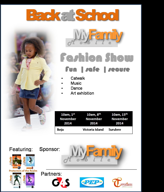 BACK AT SCHOOL FASHION SHOW - 1ST NOVEMBER 2014