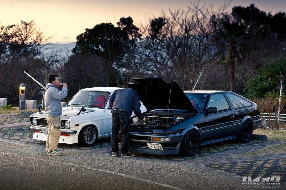 133. Zdjęcia #043: Combo. staryjaponiec blog 日本車