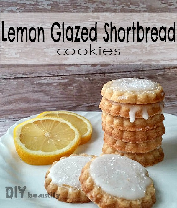 These 5-ingredient Lemon Shortbread Cookies are sweet and tart with ...