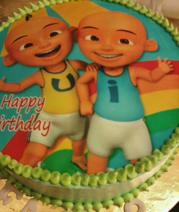 Edible Image Cake Kl : Just Lildaisy ( Ampang ): Chocolate Cake with Edible Image