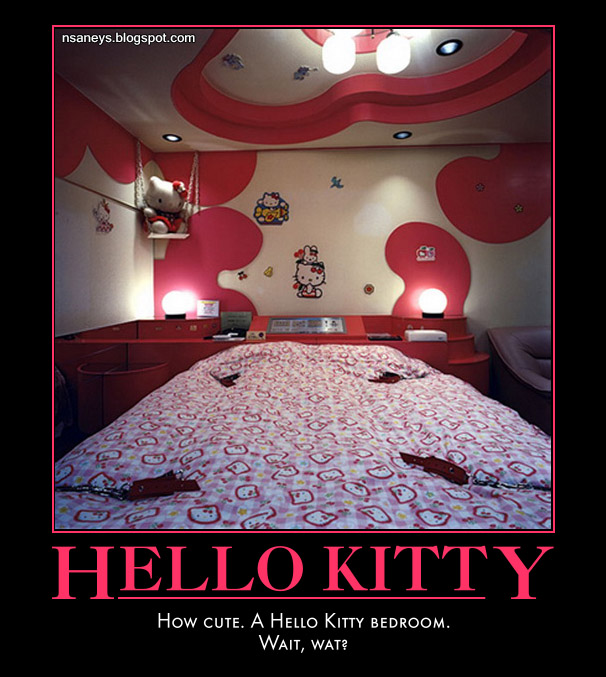 Nsaney'z Posters II: Hello Kitty Bedroom