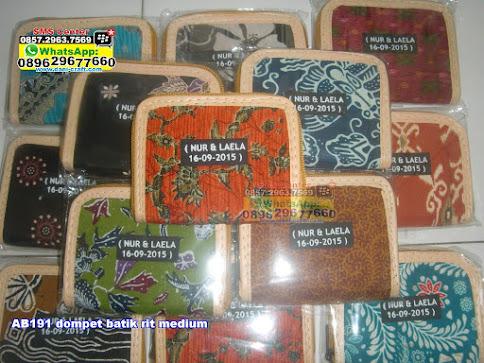 dompet batik rit medium unik