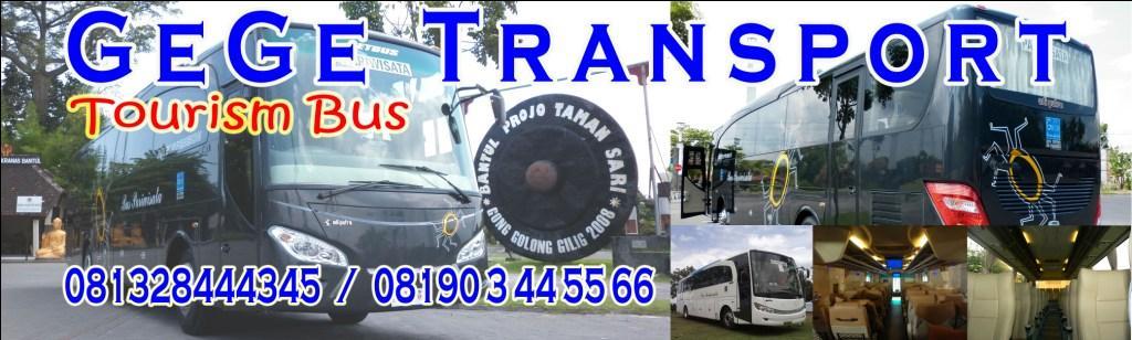 Bus Pariwisata GeGe  Transport Yogyakarta